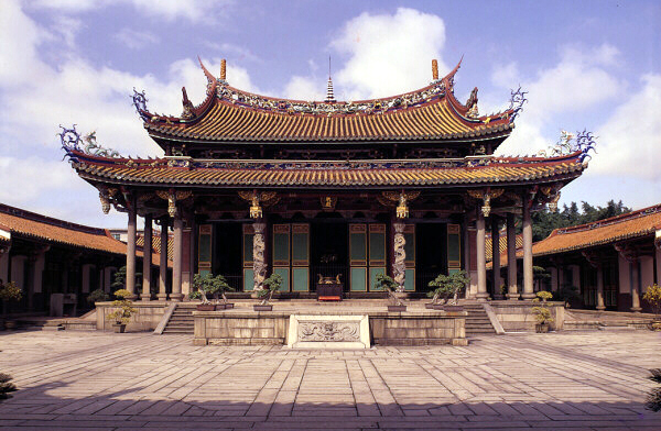 Joss House: Taoist Temples of California: The Confucian Temple