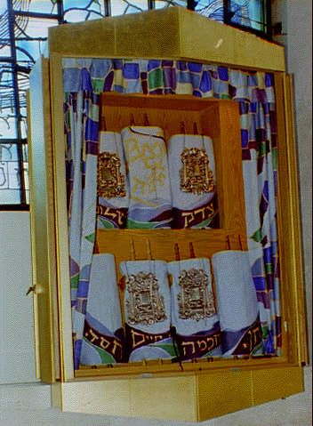 [ashkenazi Only  Explain Sephardi?] When It Is Time For The Torah Reading,  The Scroll Is Carefully Removed From The Cabinet ...