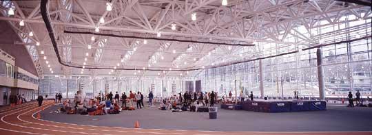 Indoor Track - Kenyon Athletic Center - Kenyon College